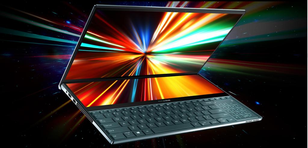 ASUS ZenBook Pro duo processor
