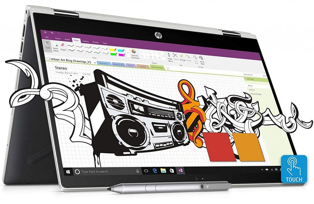 hp pavilion series this is the most popular series for office work laptops. now here we have HP Pavilion x360 Core