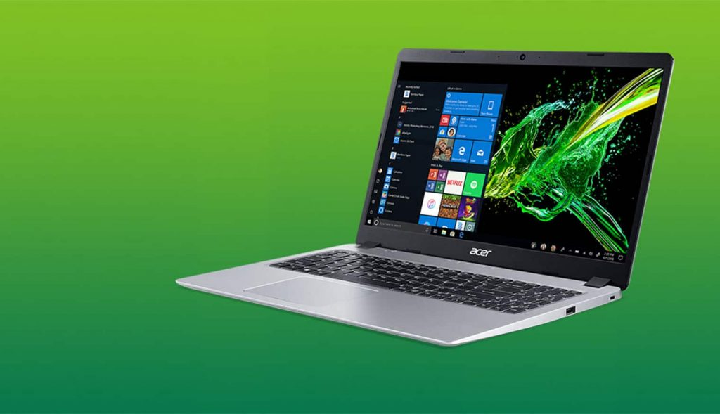 Acer Aspire 5 is 14 inches laptops coming with intel 10th gen processors