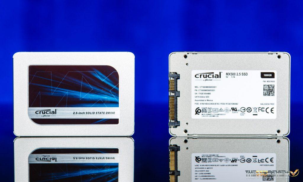 crucial MX500 500GB SSD