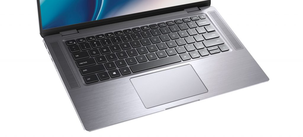 dell latitude 9510 2-in-1 laptop keyboard and touch-pad